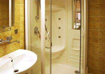 Koupelna se sprchou 1+kk