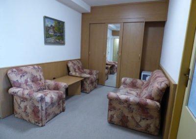 Hotel Morávka pokoj 216 chodba