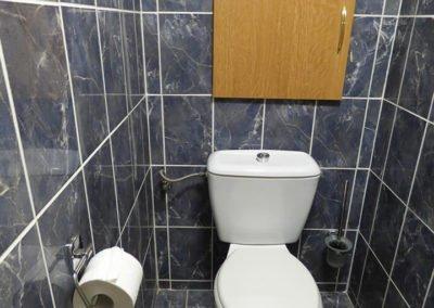 Hotel Morávka pokoj 216 záchod